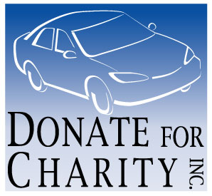 Donate for Charity Inc. Logo to donate cars, trucks, rvs, and more