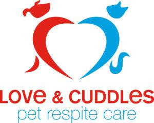Love & Cuddles Pet Respite Care logo