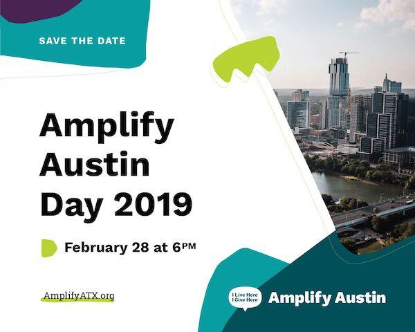 Amplify Austin 2019 AmplifyATX February 28